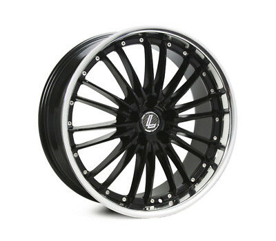 FORD MUSTANG WHEELS PACKAGE: 20x8.5 20x9.5 Lenso OP3 BKM and Continental Tyres
