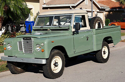 1978 Land Rover Defender Pick-Up Land Rover Defender Serie III, Pick-Up