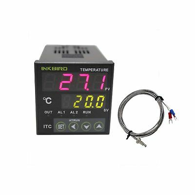 Inkbird Digital PID Temperature Controller on/off Thermostat Ac 100-240V ITC-...