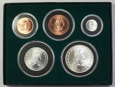 1794 Gallery Mint 5 Coin Year Set