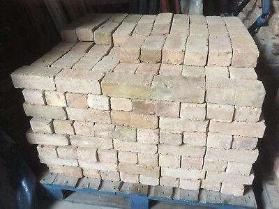 """Reclaimed Imperial Buff Brick London Stock 9""""x4.5""""x3"""" Feature Wall 350 Available"""