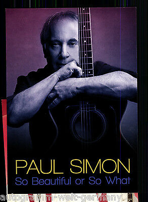 Paul Simon TOP AK Orig. Sign.   +28520 OU