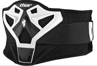 Thor Kinder Sector Belt weiß Nierengurt Nierenschutz Youth Motocross MX SX