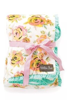 Matilda Jane New Arrival Blanket Minky Baby Infant So Soft New Nwt Sold Out