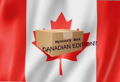 BEST 100$ Mystery Assorted Lot of Canadian objects/trinkets