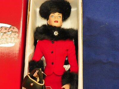 Original EFFANBEE BRENDA STARR REPORTER doll IN RED-BEAUTIFUL!! Dale Messick