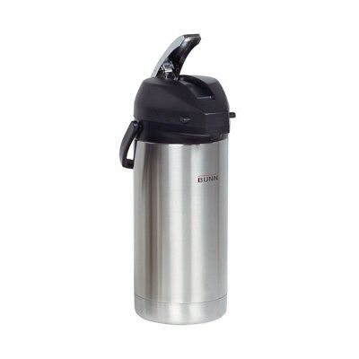(Stainless) - BUNN 36725.0000 3.8-Litre Lever-Action Airpot, Stainless Steel