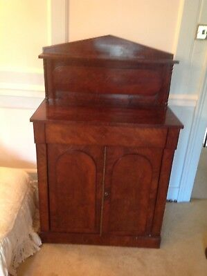 Pretty Antique Rosewood Cabinet