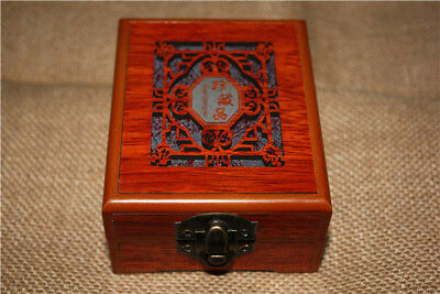 Collect Chinese China Culture Wood Boxes Jewelry Jewellery Box Cabinet