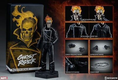 Sideshow Ghost Rider 1/6 Sixth Scale Figure Mib *in Stock*