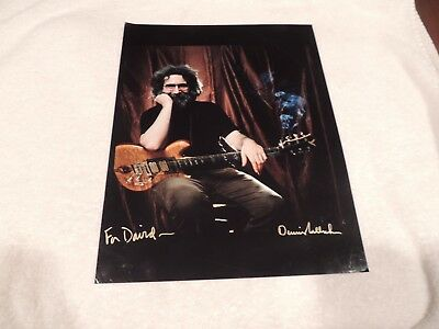 "Grateful Dead / Jerry Garcia - Dennis Callahan  11"" x 14"" - Addressed & Signed!!"