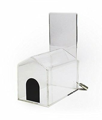 Source One Donation Box with Sign Holder Small-House