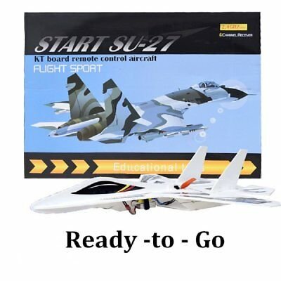 RC Plane SU-27 Electronic Remote Control Airplane Kit - 6 Channel High Tec Body
