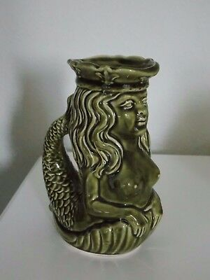 Collectable Dartmouth Pottery Mermaid Gurgle Glug Jug