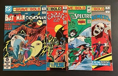 The Brave & The Bold DC Comic Books Lot of 4 - Includes Batman Marries Catwoman