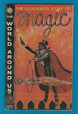 Classics Illustrated Comic 64 pages Special MAGIC 1960 Story of HOUDINI Rare#921