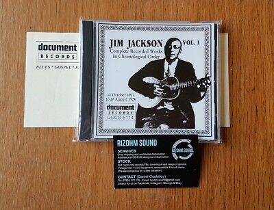 Jim Jackson Vol. 1 (1927–1928) / AROUND 700 DOCUMENT RECORDS TITLES IN STOCK