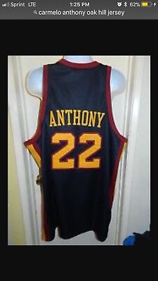 ee0be8a8438 ... carmelo anthony jersey oak hill academy high school nba ncaa authentic  stitched