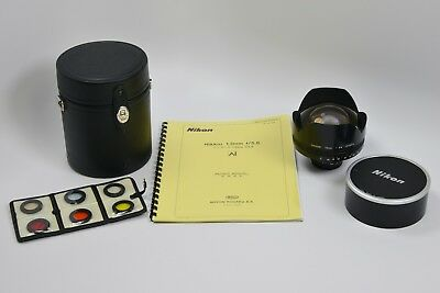 "Nikon Nikkor 13mm f/5.6 (The first Ai-mount version made!) ""Holy Grail Lens"""