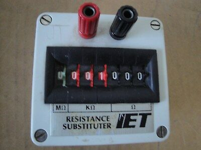 IET LABS RS 200 Resistance Stubstitution Box 1% 1/2W