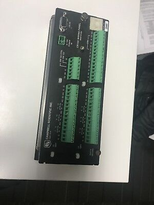 Campbell Scientific CR10X Wiring Panel