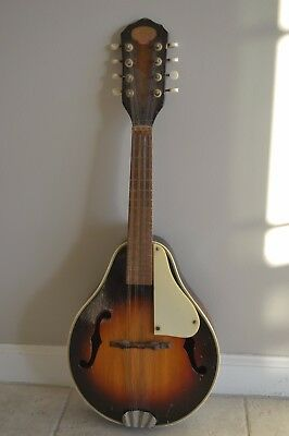 antique 1930s crown mandolin