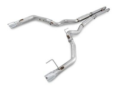 "2015-2017 Mustang GT AWE 3"" Track Cat Back Exhaust System Chrome Tips 3020-32028"