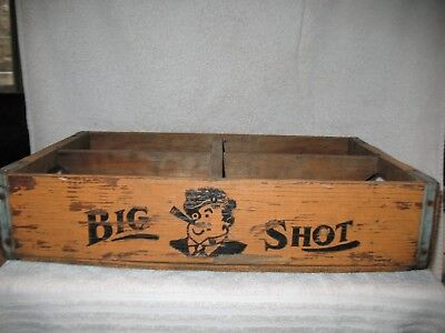 "New Orleans ""Big Shot"" Wooden Crate"