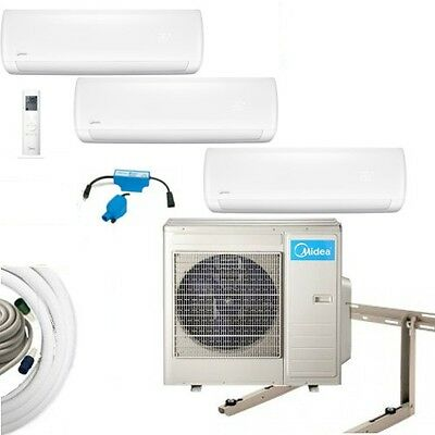 Air Conditioning Complete Set Multi Split Midea Wall Devices 2x2, 6KW+1x3,