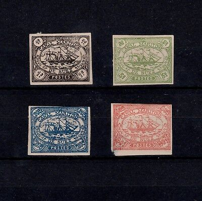 Egypt 1868 Set Of Canal Zone Stamps Possibly Reprints