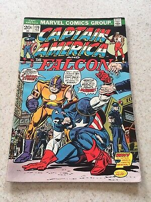 Captain America  170  VF/NM  9.0   High Grade  The Falcon  Black Panther