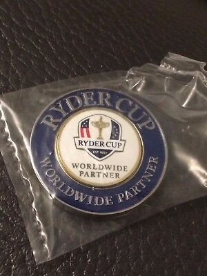 Ryder Cup - Brand New And Sealed- Ball Marker- In Gift Bag- Sli