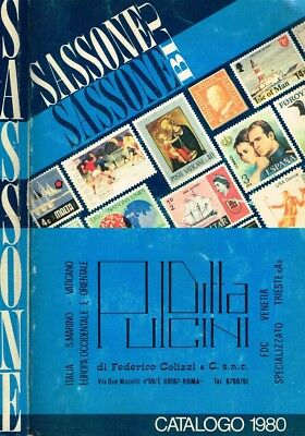 Sassone Blu 1980. Catalogo. 1980. .