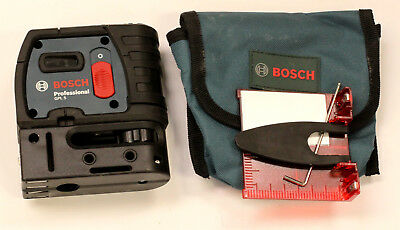 Bosch GPL 5 S Self-Leveling Alignment Laser 5-Point 100' ft GPL5S