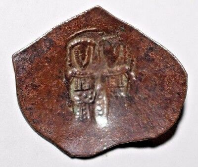 Byzantine Latin Empire AE Sm. Module Trach Anonymous
