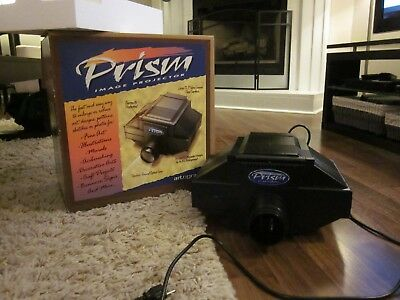 Artograph Prism Art Image Projector 225-090 w/Bulbs & Reversible Lens IN BOX!!