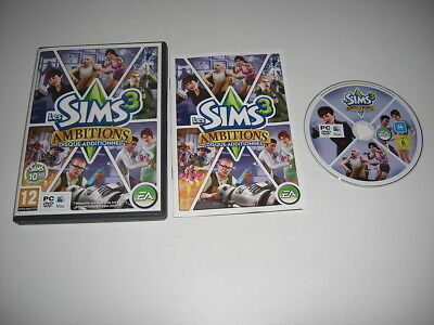 THE SIMS 3 AMBITIONS FRENCH VERSION Pc DVD / Apple MAC Add-On Expansion Pack