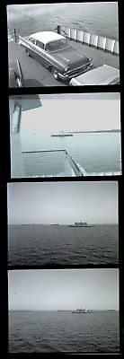 Lot of 4! Ferry on LAKE CHAMPLAIN NY VT New York Vermont Photo Negatives 32