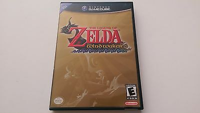 Legend of Zelda: The Wind Waker (Nintendo Gamecube, 2003) Complete Tested VG!!!