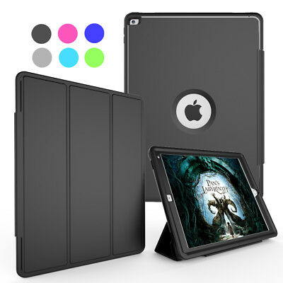 For Apple iPad Pro 12.9 Shockproof Heavy Rugged Armor Stand Hard Flip Case Cover