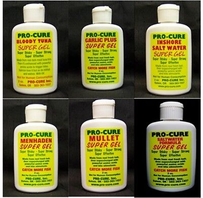 Lot Of 2 New Pro-Cure Super Gel With Uv Flash - Choose Your Favorite 2 Scents
