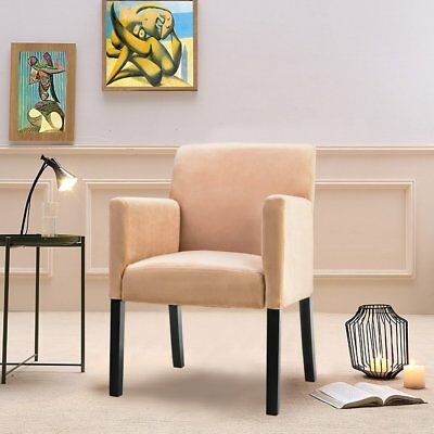 FABRIC ACCENT CHAIR Stylish Modern Dining Chair Kitchen ...