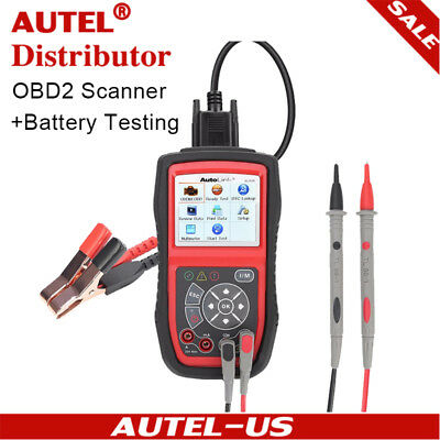 Autel AutoLink AL539B OBD2 Reader Electrical Battery Test Tester Tool Fault Code