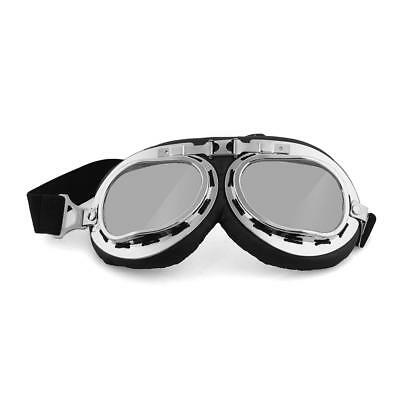 Vintage Aviator Pilot Motorcycle Goggles Glasses Protection Helmet New