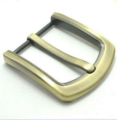 40mm Men Metal Zinc Alloy Pin Buckle for Leather Belt Spare Replacement