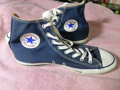 """Converse All Star - """" Chuck Taylor """" - (Made In U.s.a.) - Size 9 1/2"""