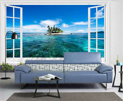 Entitled Sea Level 3D Full Wall Mural Photo Wallpaper Printing Home Kids Decor