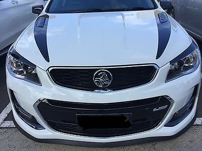 HOLDEN COMMODORE VF SERIES -  HEAD LIGHT DECALS.(Eyelids). FREE POSTAGE B4 XMAS