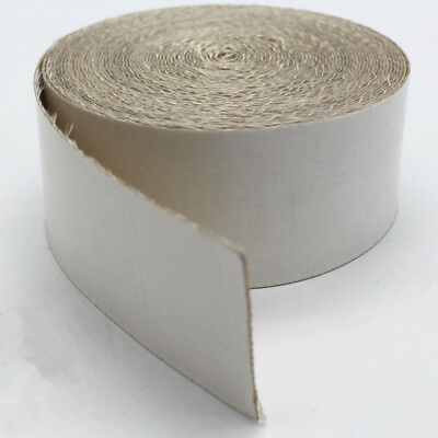 Adhesive Silica Cloth Wrap Tape High Temp 2,300°F Resistant Heat Exhaut Wrap NEW