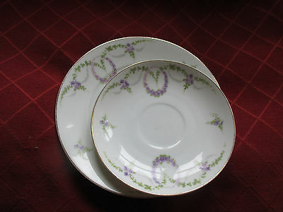 1920s rosenthal plate and saucer.